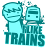 I like trains.